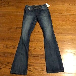 joes jeans bootcut medium wash jeans